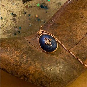 Avon Easter Egg Pendant Necklace